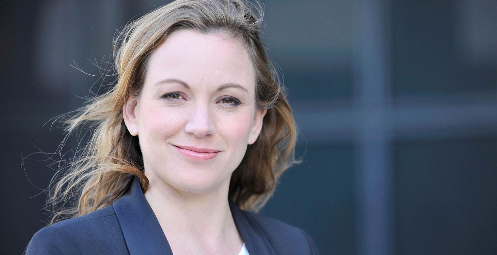 Axelle Lemaire, la  secrétaire d'État chargée du numérique et marraine de la Semaine numérique (Photo : Mein/ Patrick Vedrune).