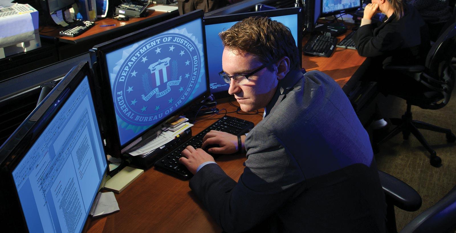 Ce à quoi ressemble un informaticien au service du renseignement (Photo: FBI).