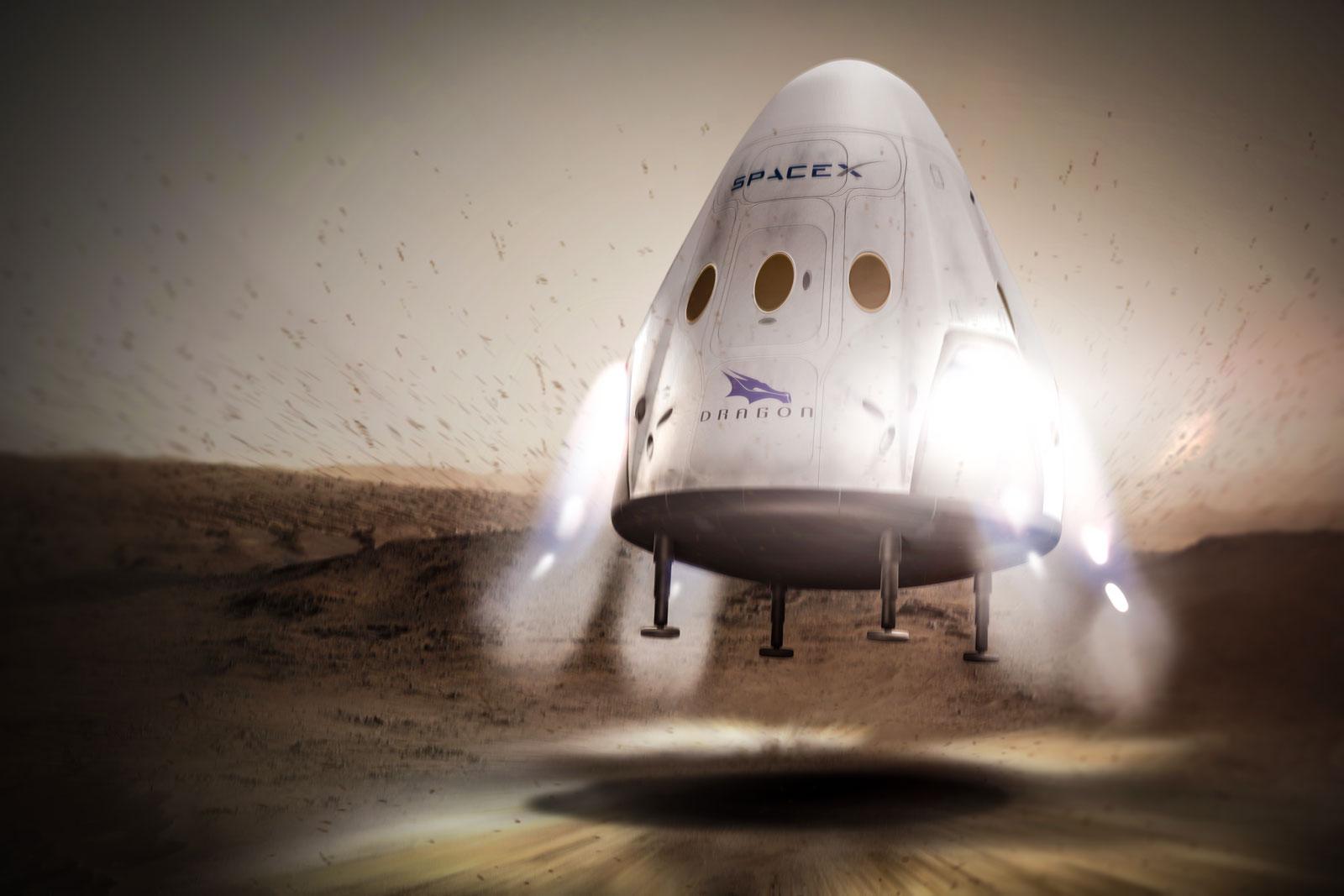 spacexdragonmars