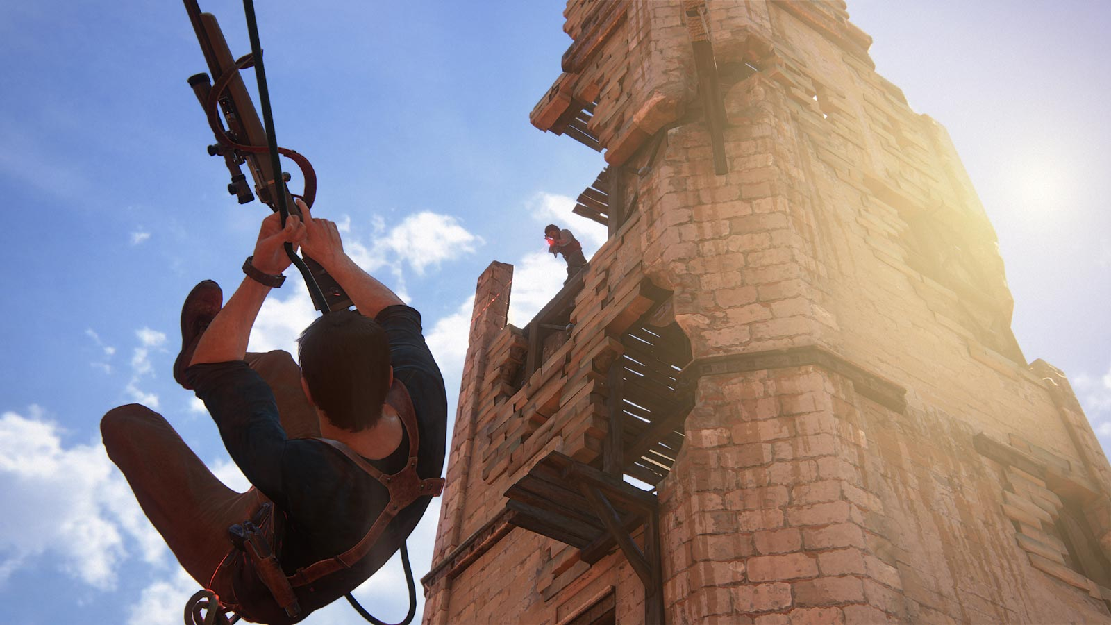 Uncharted 4 : A Thief's End, un jeu d'action / aventure de type TPS.