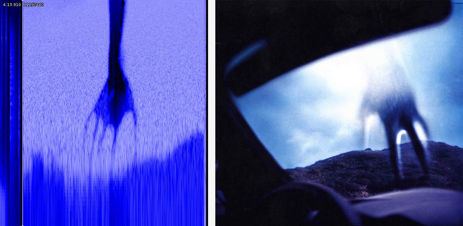 La main incorporée à la fin de la chanson My Violent Heart et la pochette de l'album Year Zero de Nine Inch Nails.