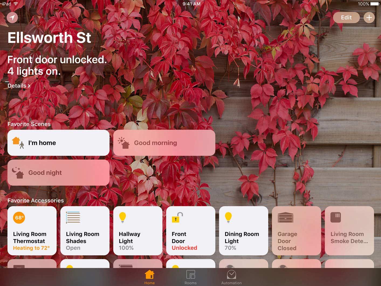 Home, une nouvelle application qui tire profit de HomeKit.