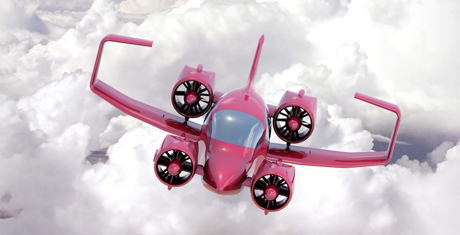 Le Skycar 400 de Moller.