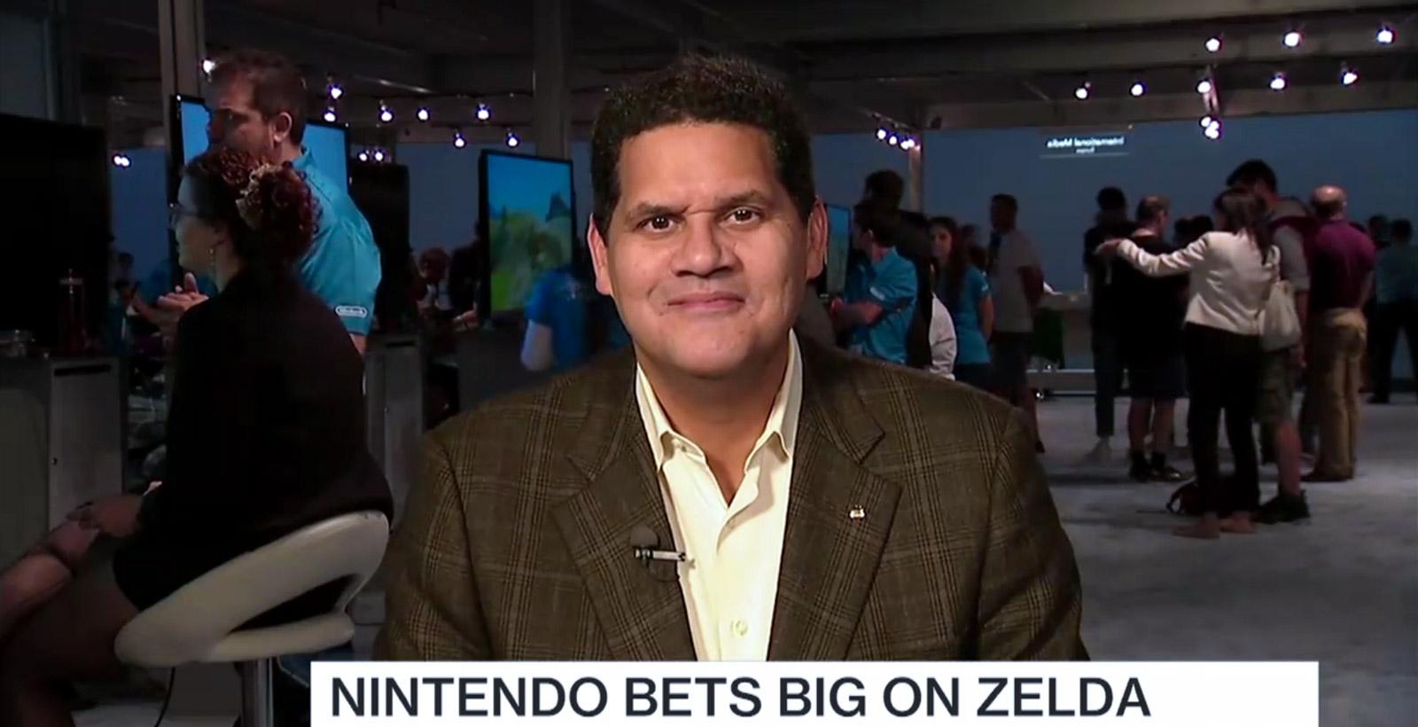 Reggie Fils-Aimé, président et directeur des opérations de Nintendo of America (Image : Bloomberg).