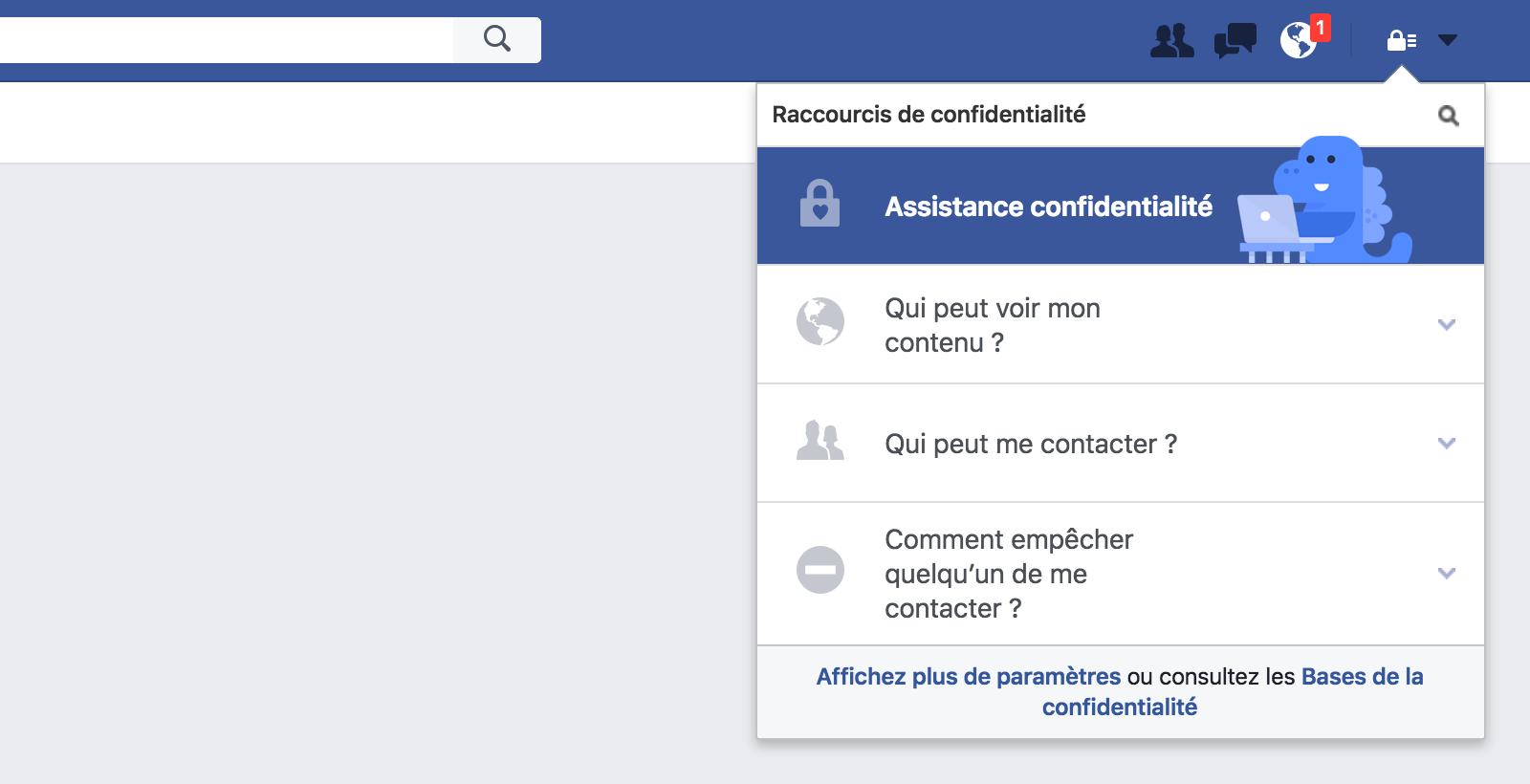 confidentialitefacebook