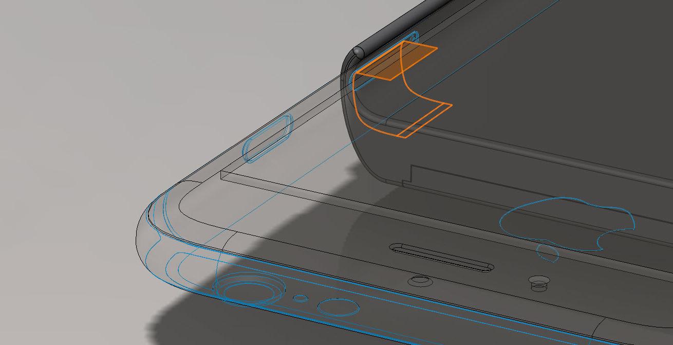 La sonde du moteur d'introspection proposé par Snowden et Huang vient se glisser dans le lecteur nano SIM.