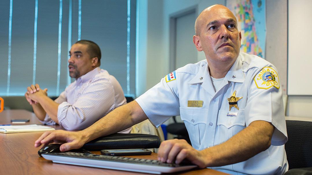 Jonathan Lewin, chef adjoint de la police de Chicago (Photo : Chicago Tribune).
