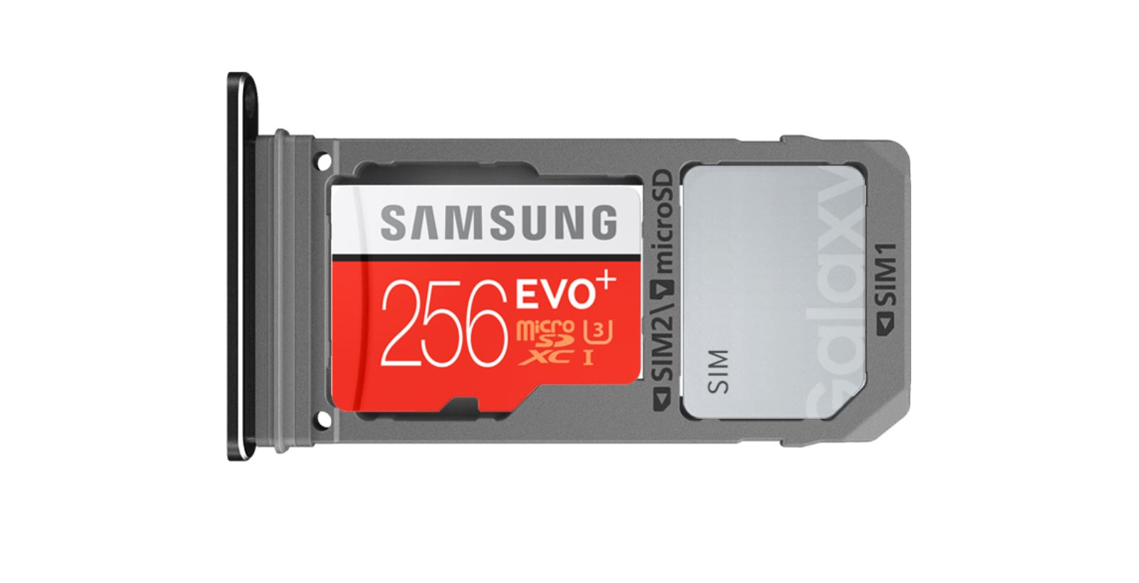 Vous avez le droit d'y insérer la carte microSD d'une autre marque également.