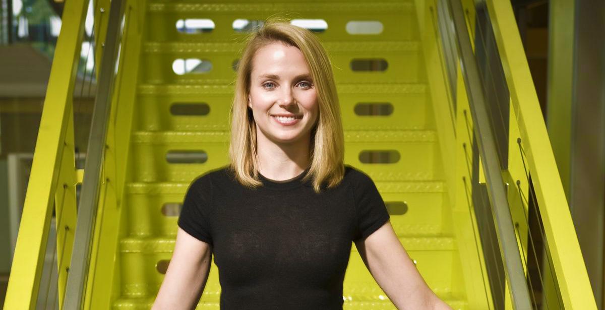 Marissa Mayer, PDG de Yahoo.