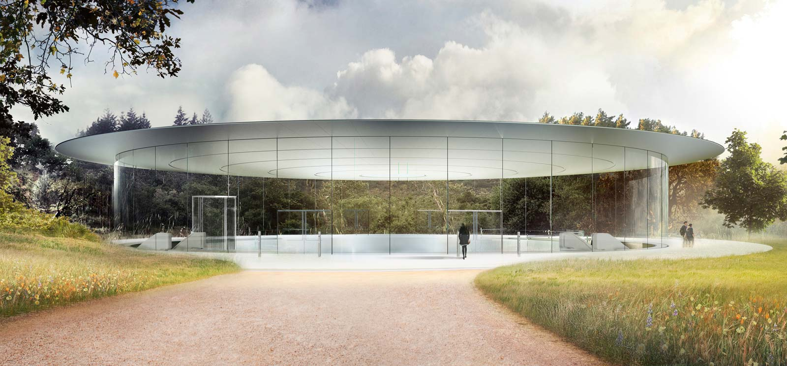 Le Steve Jobs Theater.