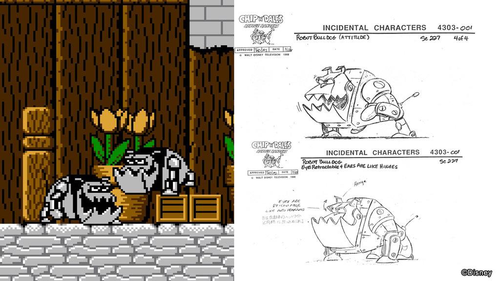 Un aperçu de l'un des concept art proposé dans la section Disney Musuem.