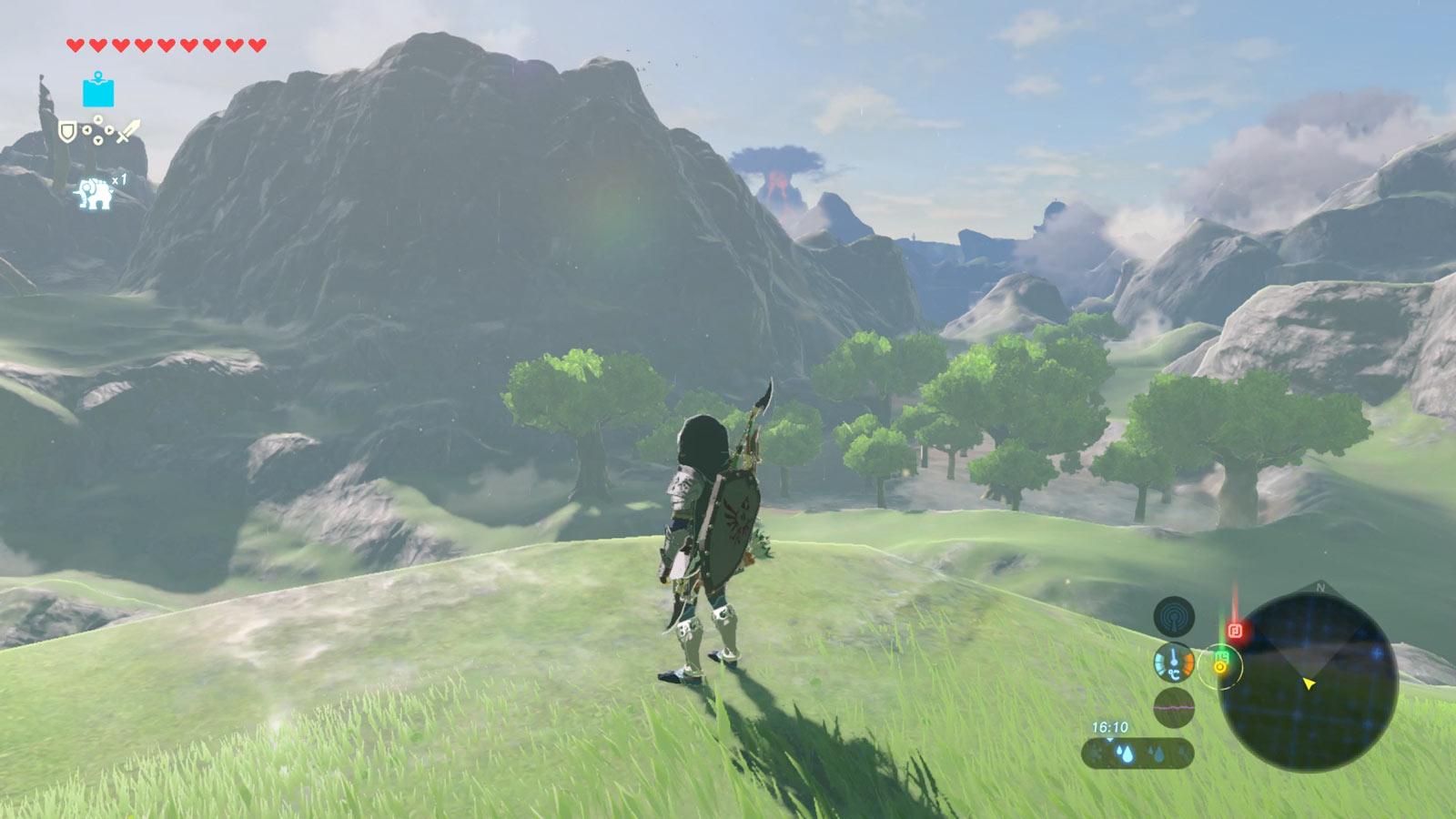 Si cette montagne ne bloquait pas la vue, vous verriez à quel point le territoire est immense.