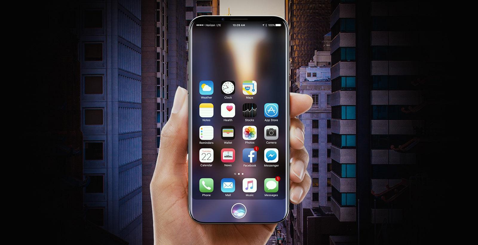 Concept du présumé iPhone 8 (Image : Gabor Balogh).