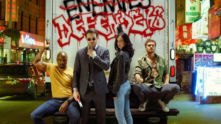 The Defenders : Daredevil, Jessica Jones, Luke Cage et Iron Fist allient enfin leurs forces