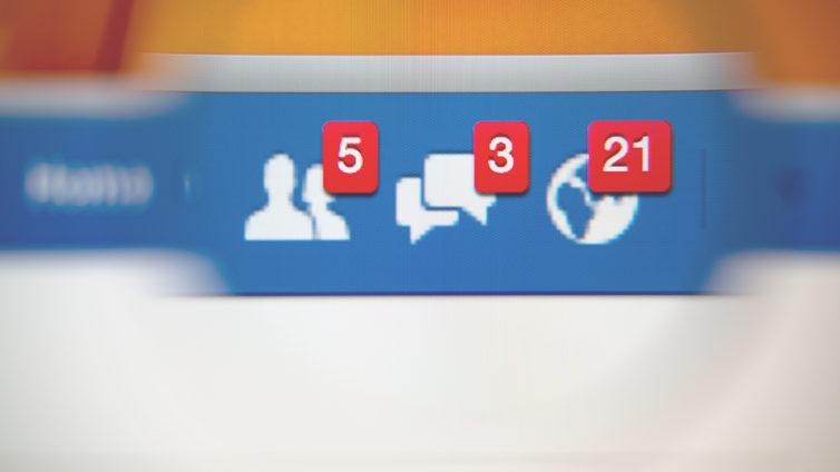 On pourra enfin supprimer les points rouge de notifications — Facebook