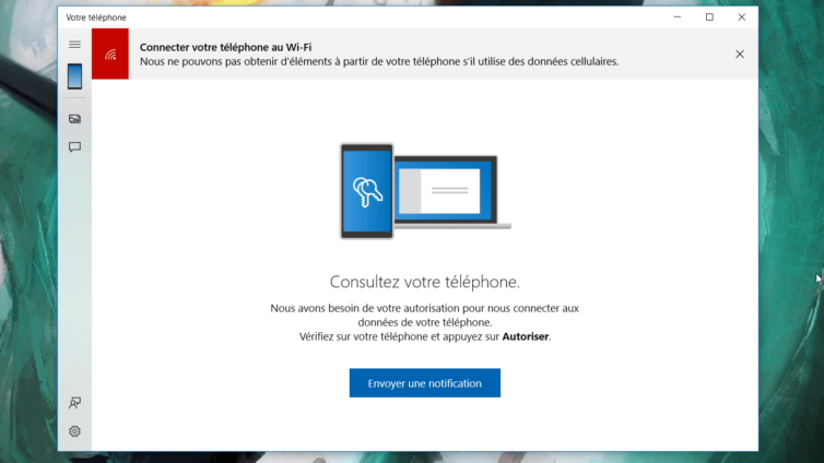 Windows 10 accueille les notifications Android